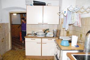 Die neue Hüttenküche