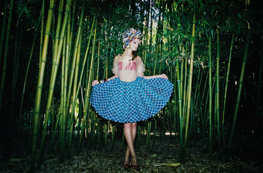 Bamboo Girl for Huff magazine