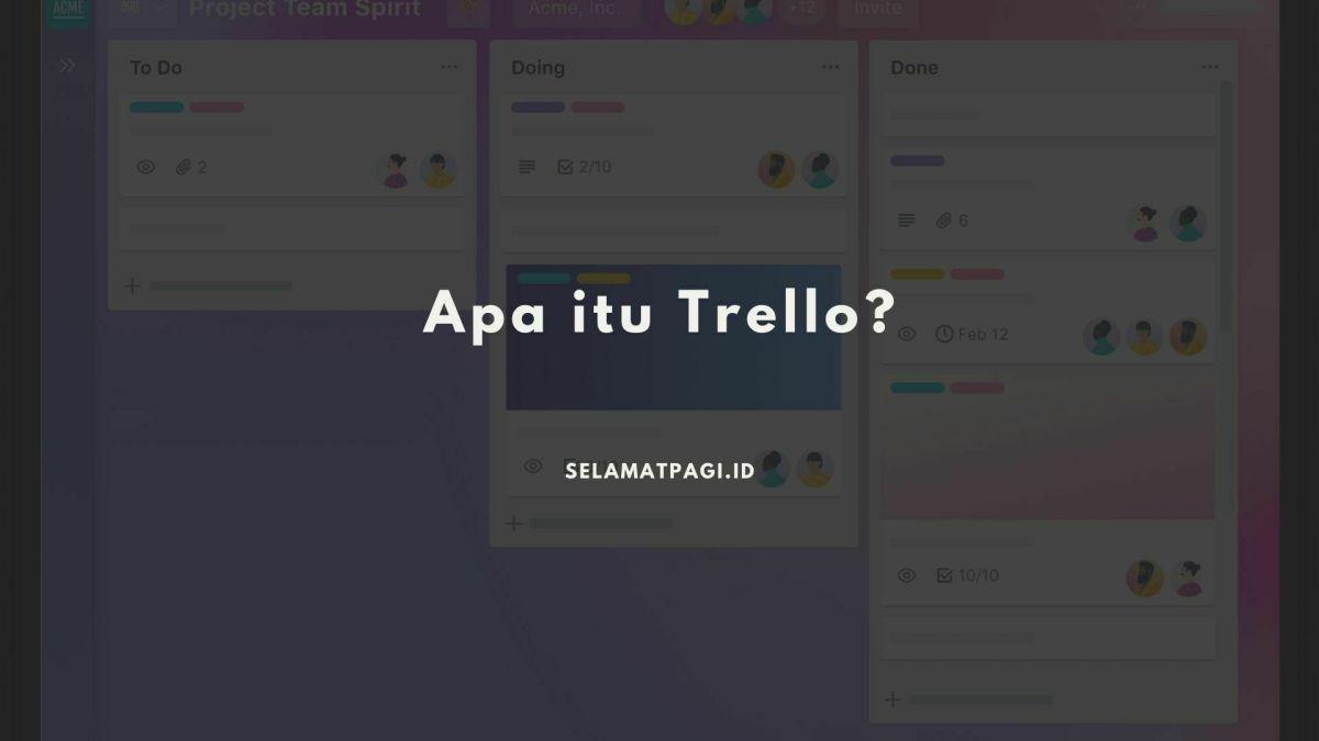 Pengertian Trello