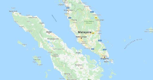 peta selat Malaka