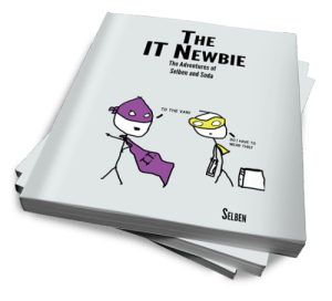 picture of the I.T. Newbie book