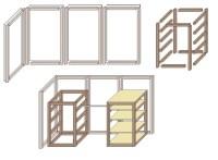 Begehbaren Kleiderschrank selber bauen  www.selber-bauen.de
