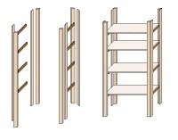 Regale selber bauen - so geht's  www.selber-bauen.de