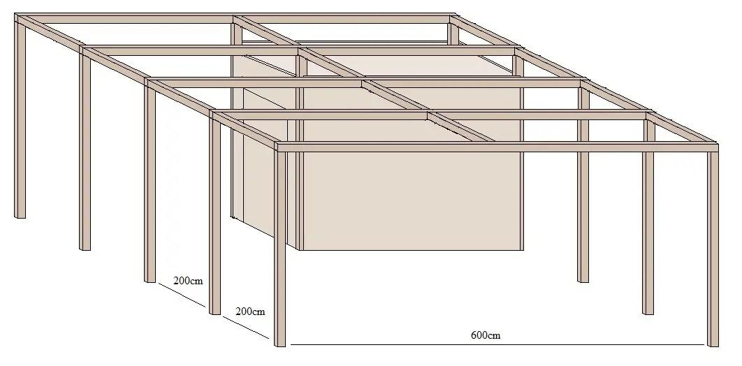 unterstellplatz doppelcarport groesse berechnen. Black Bedroom Furniture Sets. Home Design Ideas