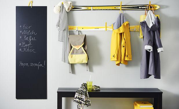 Garderobe selber bauen  selbstde