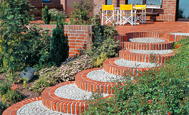 Gartenweg selber bauen  selbstde