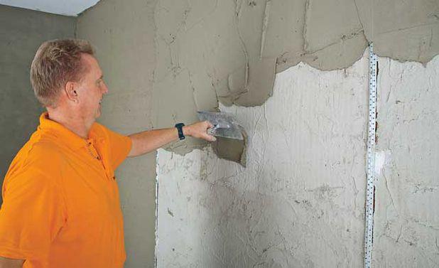 Wand bauen  selbstde