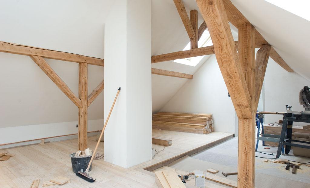 Dachboden ausbauen  selbstde
