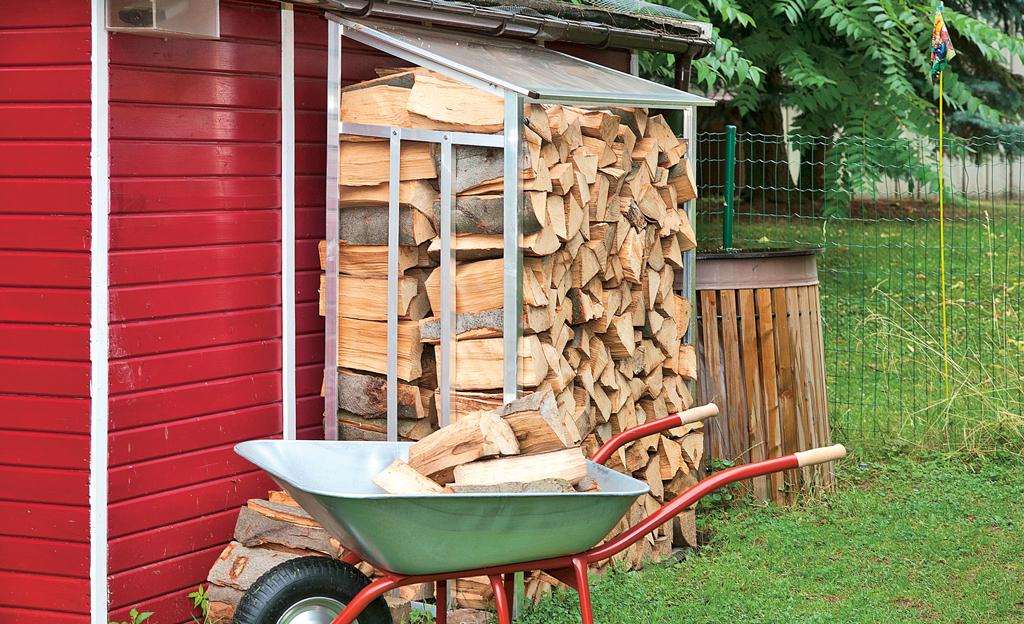 Brennholzregal  selbstde