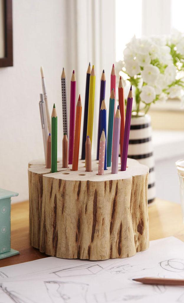 HolzStiftehalter selber bauen  selbstde