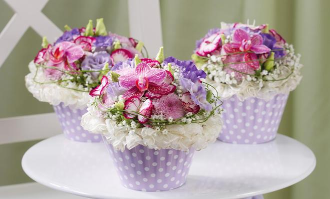 Blumengestecke selber machen  selbstde