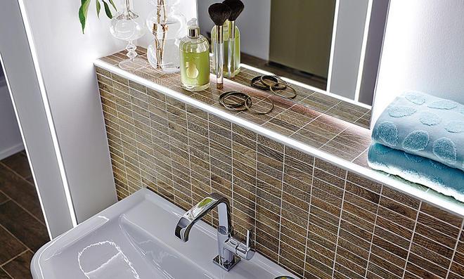 LEDLichtleisten frs Bad  selbstde