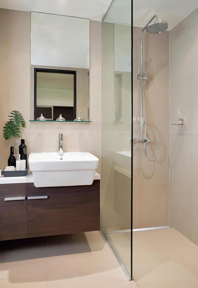 Begehbare Dusche  selbstde