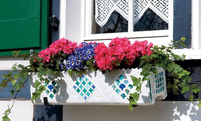 Blumenkasten Fensterbank  selbstde