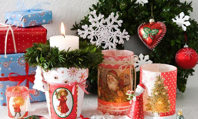 Weihnachtsservietten Basteln