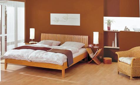 Schlafzimmer mit Farbe gestalten  Farben  Tapeten  selbstde