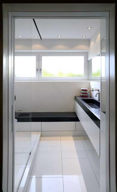 Raumwunder Bad auf 6 qm  Waschbecken  WC  selbstde