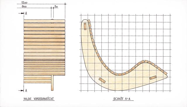 schaukelliege holz bauanleitung. Black Bedroom Furniture Sets. Home Design Ideas