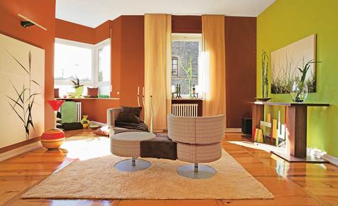 Wandgestaltung Ton und Farbe  Wohnen  Deko  selbstde