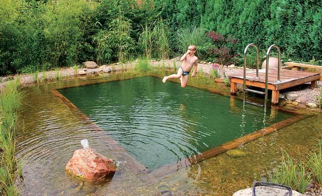 Schwimmteich Anlegen Teich Anlegen Selbst De