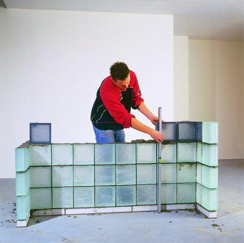 Glasbausteine verlegen  Kche renovieren  selbstde