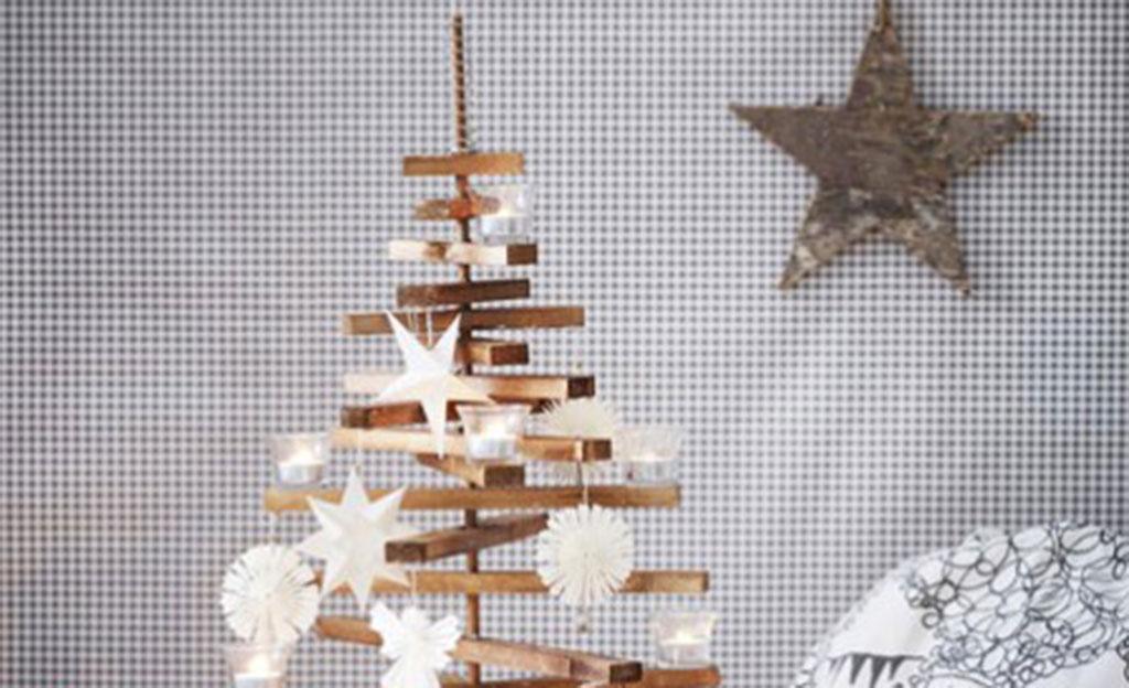 Weihnachtsbaum aus Holz  Basteln  selbstde