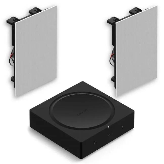 sonos amp in ceiling speaker pack