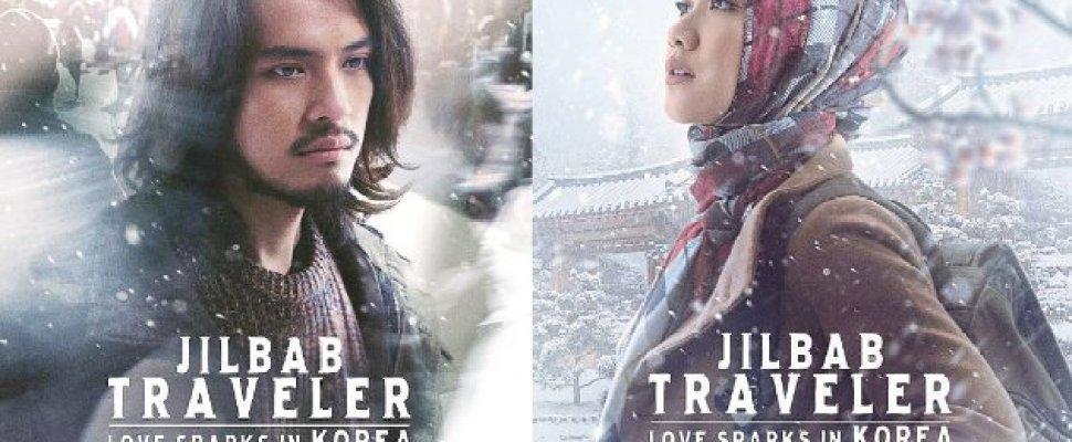 "Ganteng Ala Pria Korea, BCL Cantik Berhijab Saat di Poster ""Jilbab Traveler"""