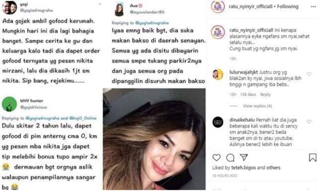 Lagi, Nama Nikita Mirzani Harum karena Kisah Kebaikannya 'Dibocorkan' Ojol oleh - blogarlinadzgn.xyz