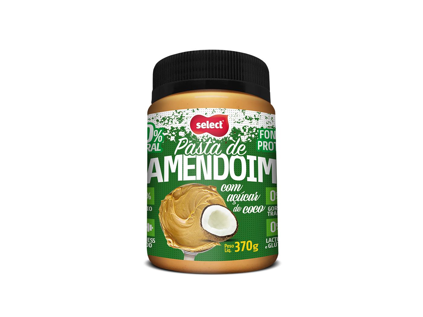 pasta integral de amendoim coco