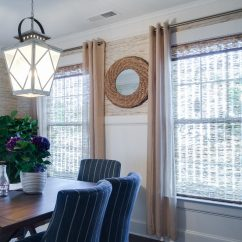 Living Room Window Treatments Pictures Paint Color For Small Coastal Coverings And Bamboo Woven Shades