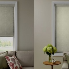Diy Roll Up Blackout Curtains Grey Ticking Stripe How To Fix Springs In Roller Shades And
