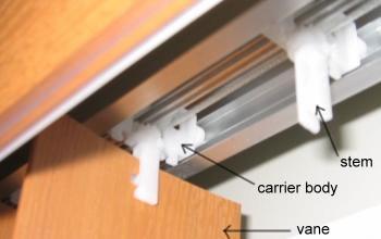 Repair Guide For Vertical Blind Tracks