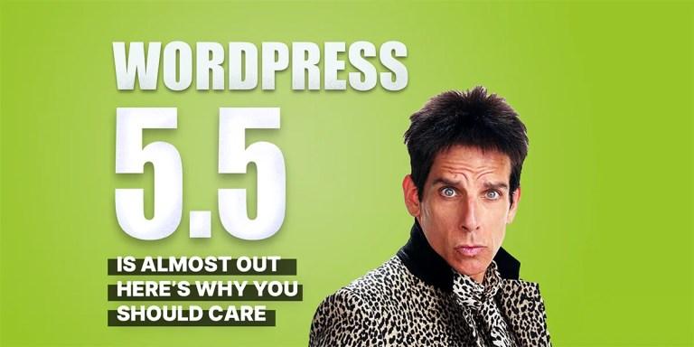 WordPress 5.5 beta features!
