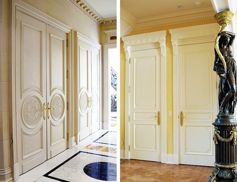 Custom Interior Doors  Paint Grade MDF Stile  Rail Doors