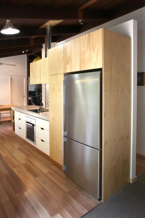 Select Custom Joinery Plywood Kitchen With White Osmo Oil