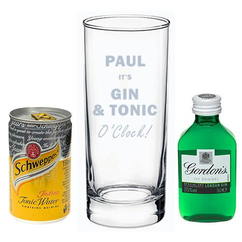 Gin & Tonic O Clock T Set