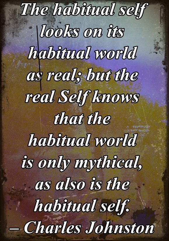 When we are not present, we live in a habitual, autonomic mode.