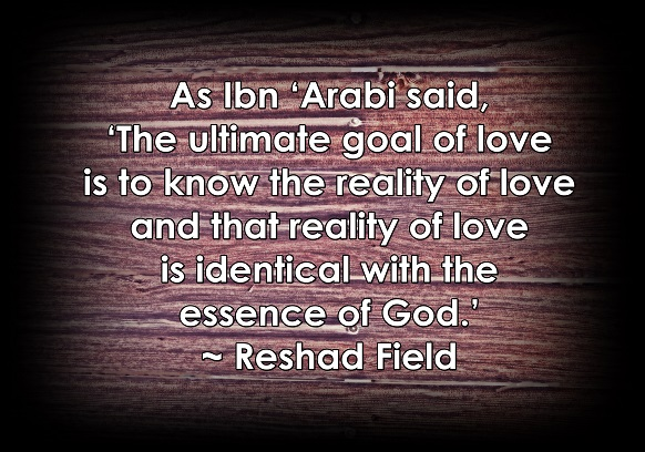 It needs to be our ultimate goal to discover the reality of love.