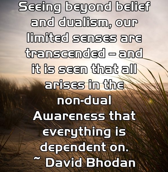When we see beyond what the physical senses tell us, we glimpse reality.