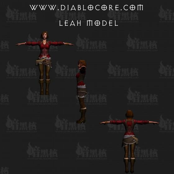 Diablo III - Leah - Modelo 3D