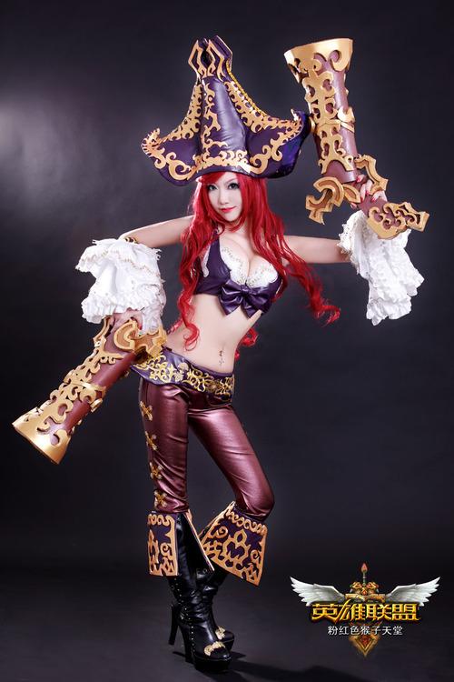 Cosplay da Miss Fortune - League of Legends - LoL 01