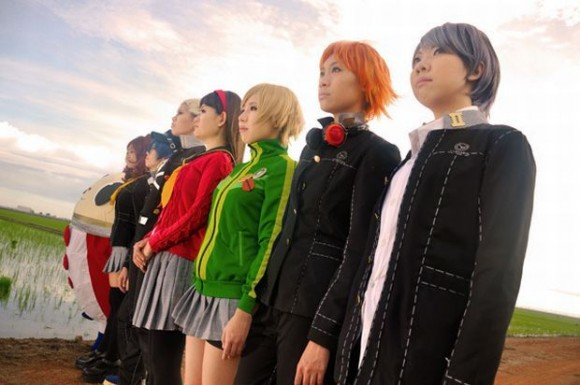 persona 4 the golden cosplays
