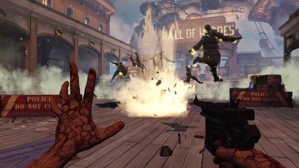 Bioshock Infinite Combat Screenshot