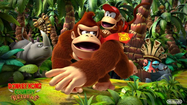 Donkey Kong Country Returns 3D Wallpaper