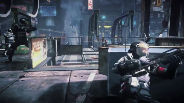Killzone Mercenary Gameplay Screen