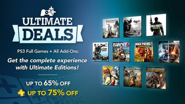 Playstation Plus Ultimate Deals