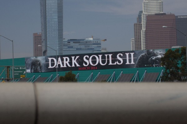 Dark Souls II Banner March 2014 - Los Angeles Convention Center