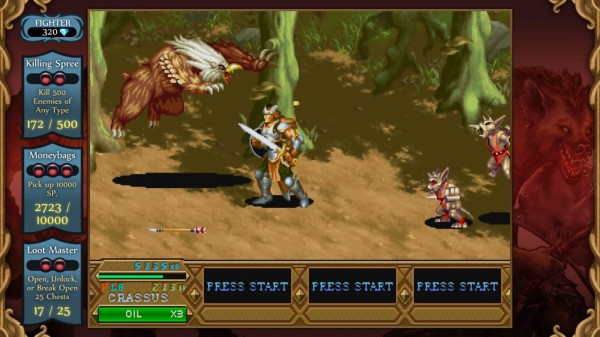 Dungeons And Dragons Chronicles of Mystara Fighter Screenshot