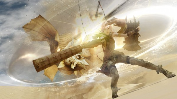 Lightning Returns Final Fantasy XIII Combate no Deserto